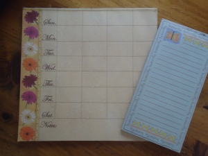 Menu Planning Notepads